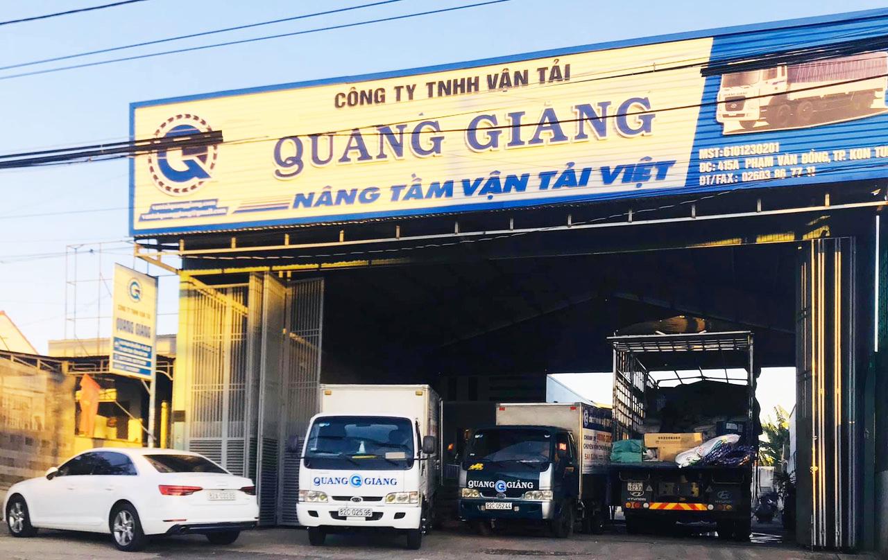 Vận chuyển hàng Kon Tum - Hồ Chí Minh